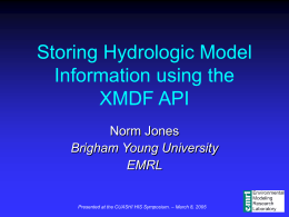 XMDF Development Strategy - University of Texas at Austin