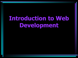 Web Design 101 - Northern Illinois University