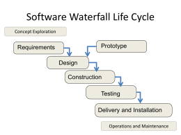 Areas of software engineering: What belongs to it