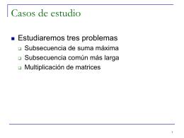 CC3001 Algoritmos y Estructuras de Datos
