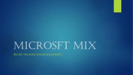 MICROSFT MIX