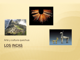 Los incas - Uhsmacondo's Blog