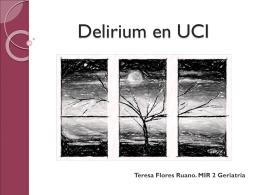 Delirium en UCI - Complejo Hospitalario Universitario de