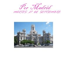 Por Madrid
