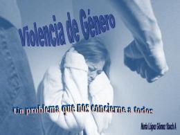 LA VIOLENCIA DE GENERO