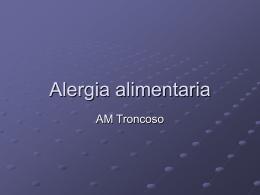 Alergia alimentaria - Universidad de Murcia
