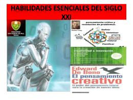 HABILIDADES ESENCIALES DEL SIGLO XXI