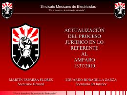 Diapositiva 1 - Sindicato Mexicano de Electricistas