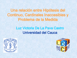 Diapositiva 1 - Universidad del Cauca