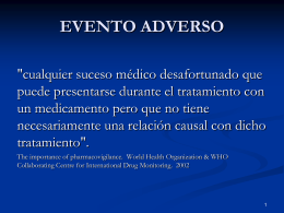 EVENTO ADVERSO - Net Consultora