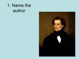 1. Name the author - Missouri State University