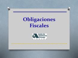 Disposiciones Fiscales
