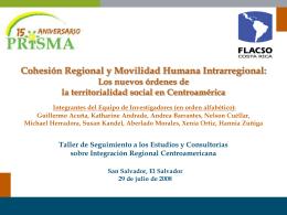 Diapositiva 1 - Encuentro Mesoamericano