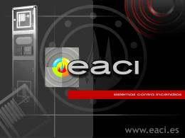 Diapositiva 1 - EACI - Sistemas Contra Incendios