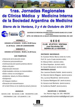 Diapositiva 1 - UNS - Departamento de Ciencias de la Salud
