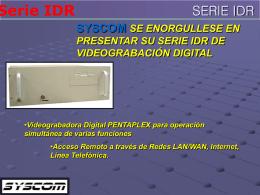 Fastrax II - SYSCOM - Todo en Sistemas de Emergencia