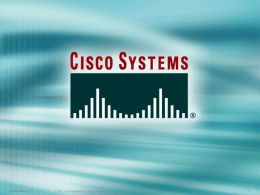 Cisco Presentation Guide