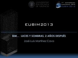 EUBIM2013