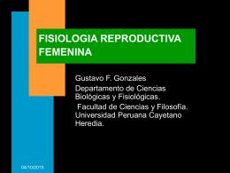 FISIOLOGIA REPRODUCTIVA FEMENINA