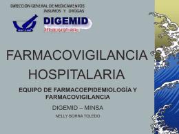 FARMACOEPIDEMIOLOGIA