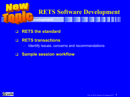 RETS Developer Seminar