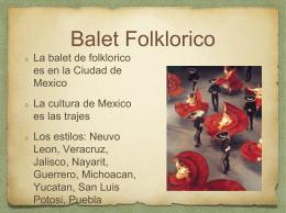 Balet Folklorico