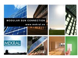 Diapositiva 1 - Mekral, Kit Solar
