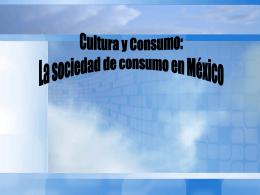 Cultura y Consumo
