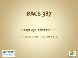BACS 387