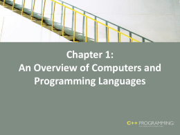 C++ Programming: Program Design Including Data …