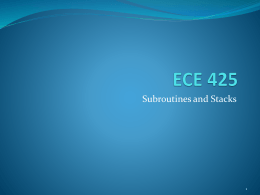 ECE 425 - California State University, Northridge