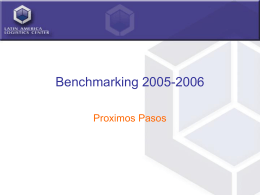 Benchmarking 2005-2006