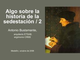 Diapositive 1 - :::: Antonio Bustamante :::: Arquitecto