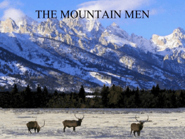 THE MOUNTAIN MEN - Arapahoe High School