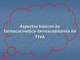 FARMACOCINETICA FARMACODINAMA EN …