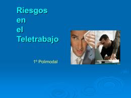 La gestion de Riesgos en el Teletrabajo