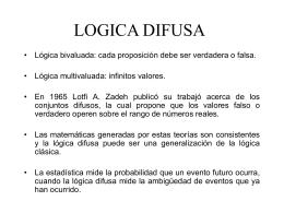 LOGICA DIFUSA - Profe Saul