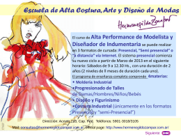 Diapositiva 1 - INSTITUTO SUPERIOR DE INDUMENTARIA