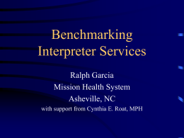 Benchmarking Interpreter Services