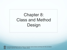 Chapter 2: Project Selection & Management