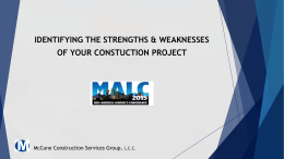 McCune Construction Services Group, LLC 2015 Mid …