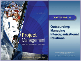 Project Management 6e - McGraw