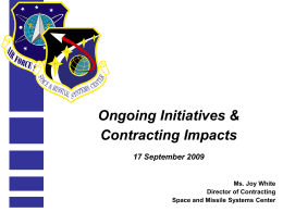 Briefing Slide Template - afcea