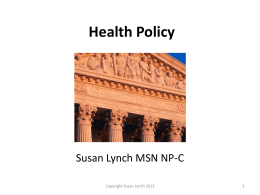 Health Policy - Amazon Web Services