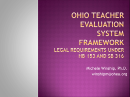 Teacher Evaluation in Ohio - Home
