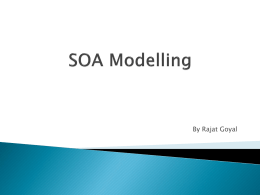 SOA Modelling using Enterprise Architect