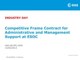 ESA Presentation