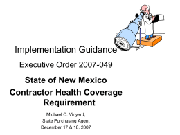 Application - Insure New Mexico!