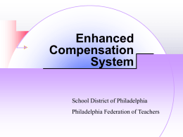 Enhanced Compensation System
