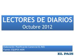 Lectores de diarios. Octubre 2010